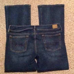 New American Eagle Jeans Size 14 Kick Boot